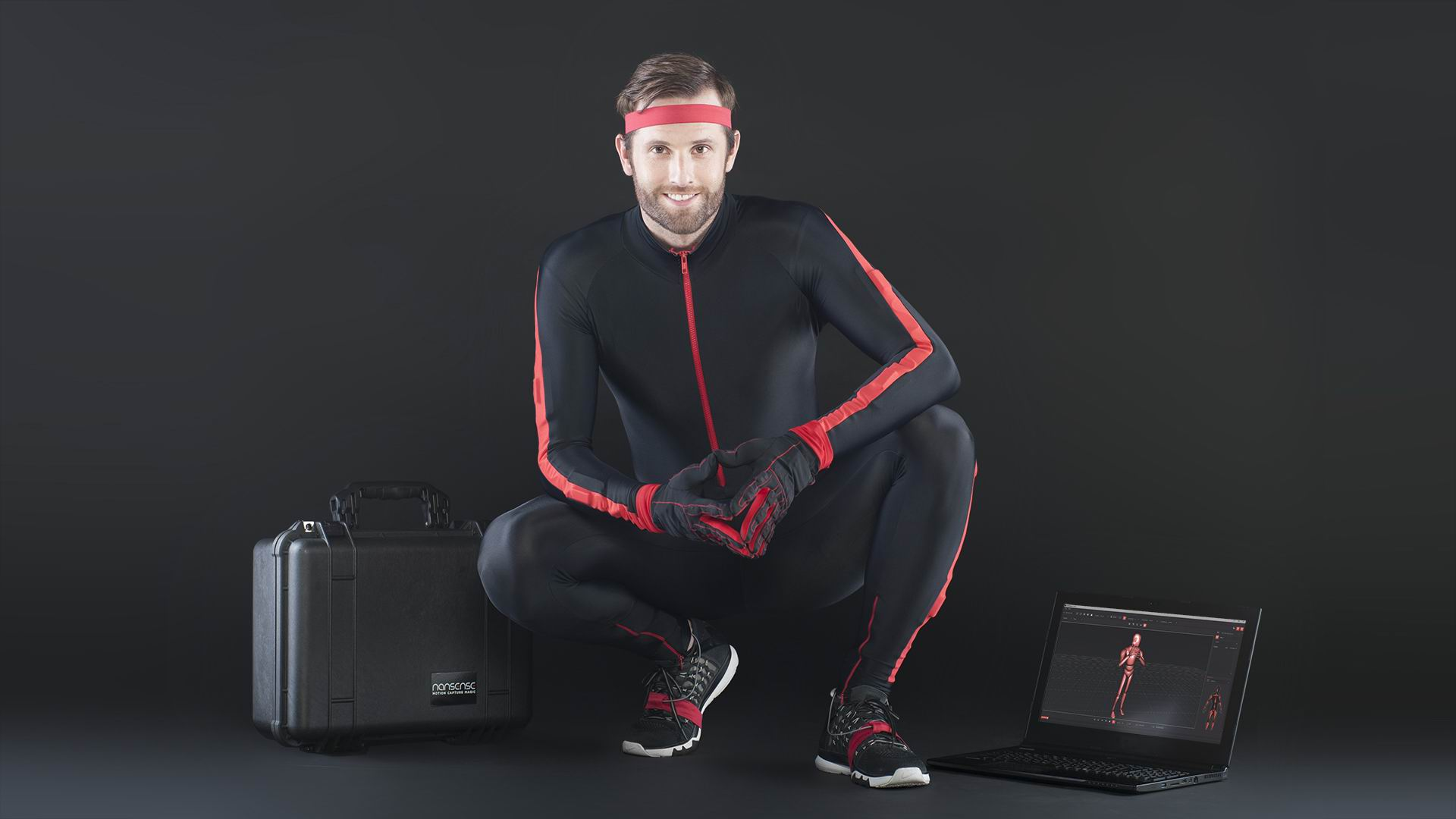Inertial Motion Capture Suit and Gloves