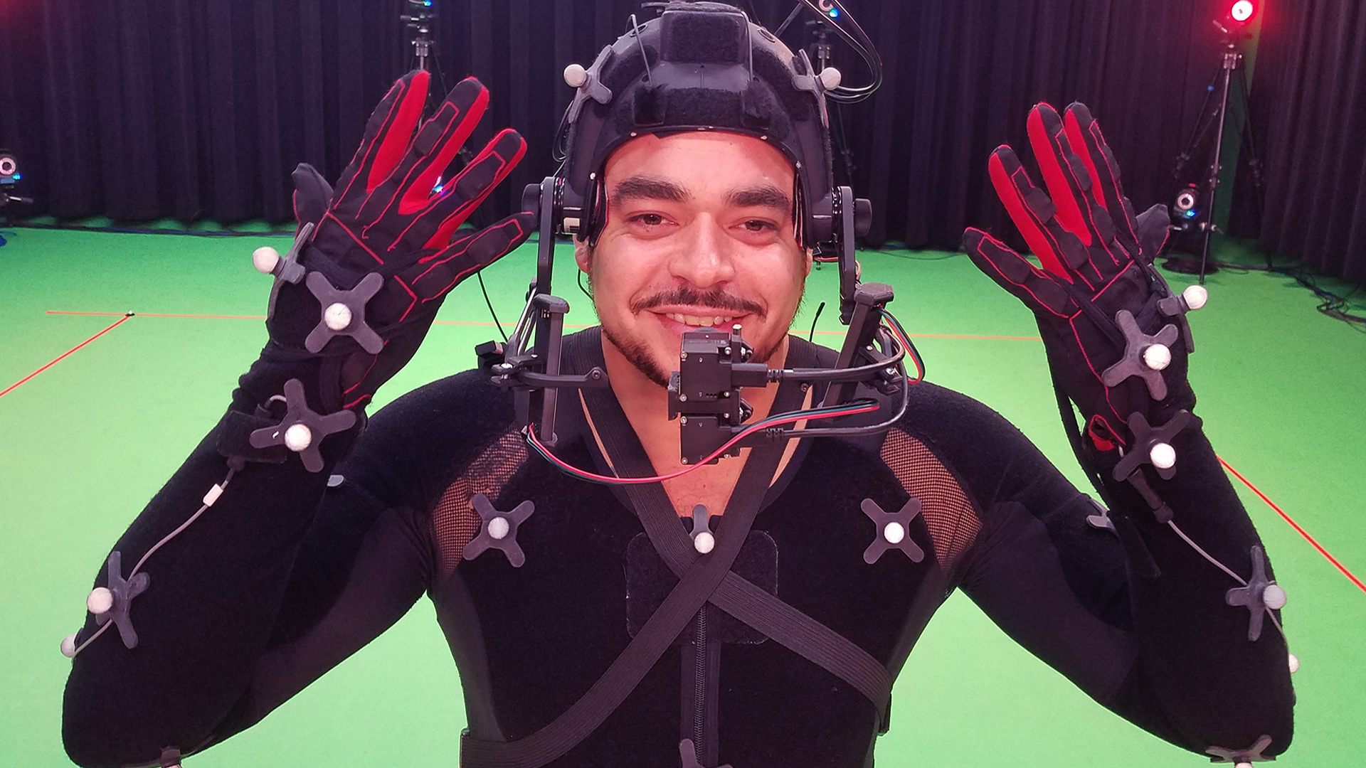 Motion and Performance capture with IMU Gloves